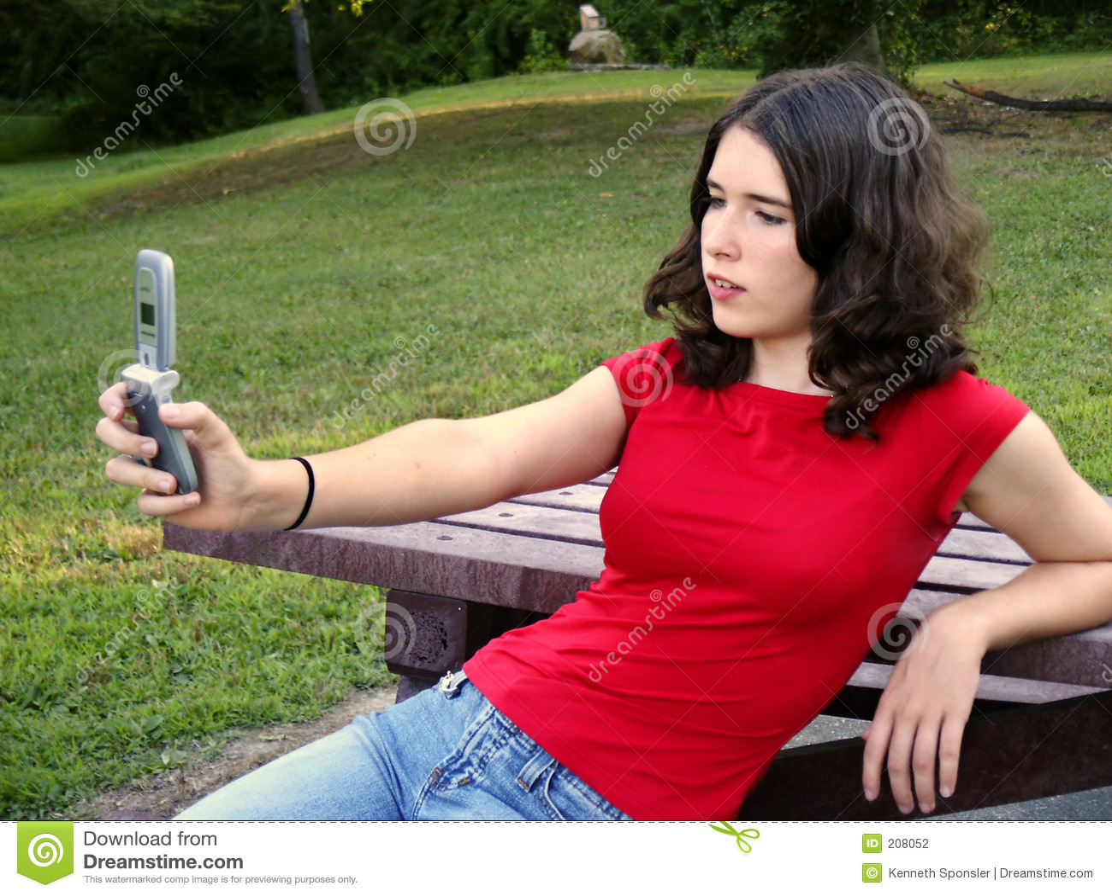 Teen använda för kameratelefon
