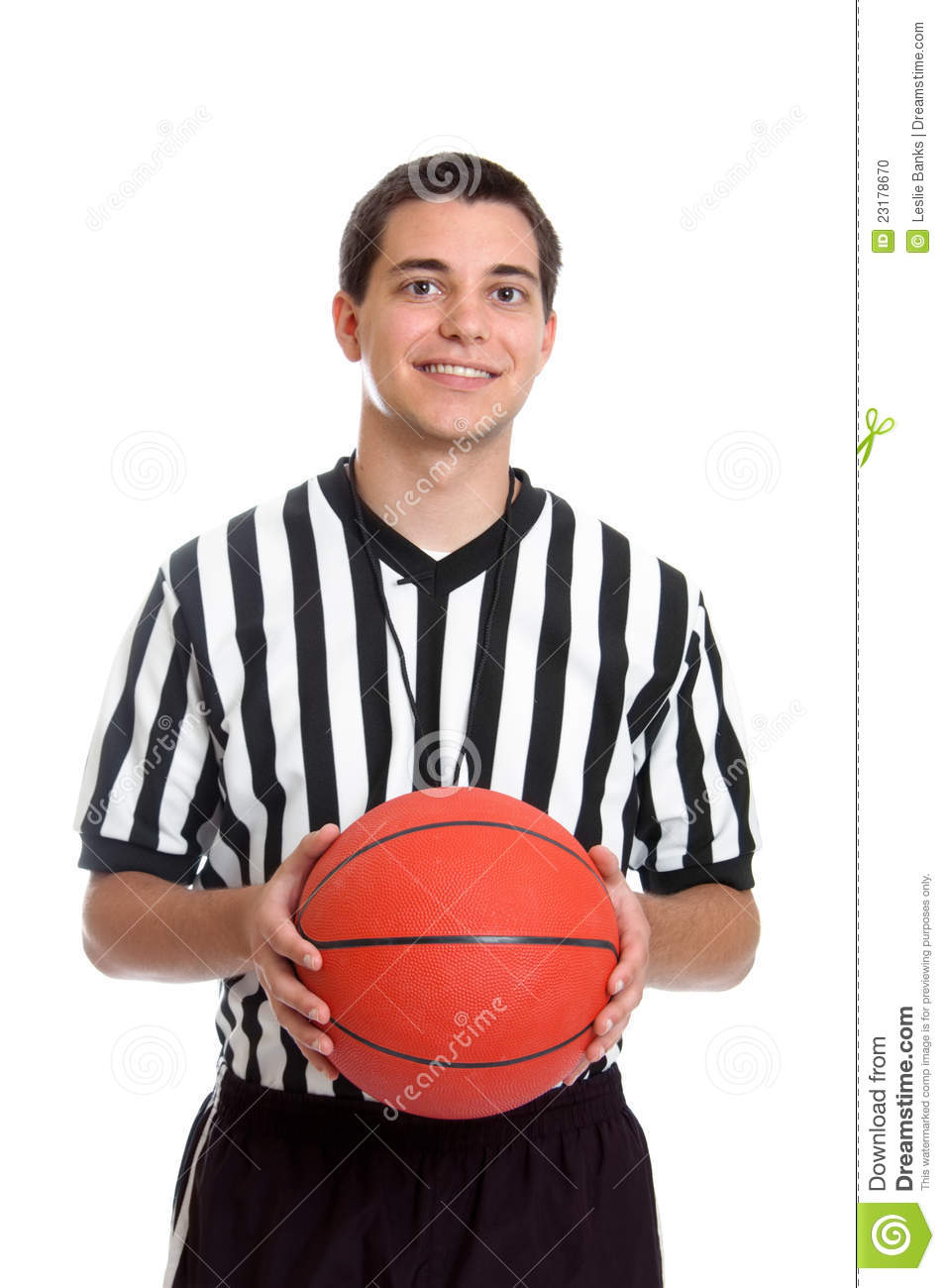 Basketball Referee Clipart