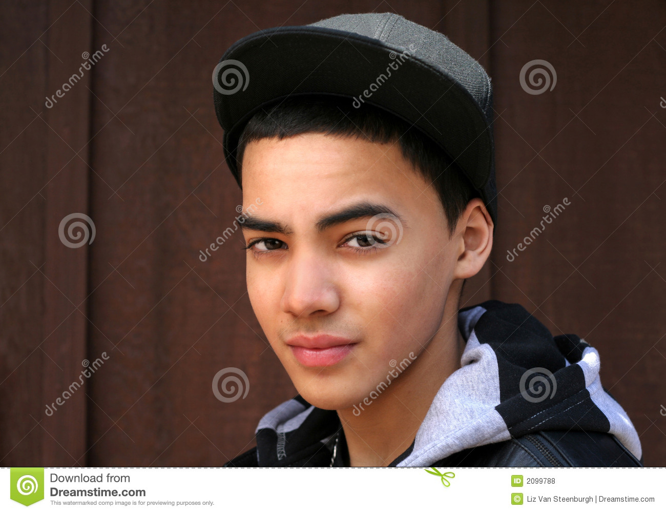 Teen Boy With Hat stock photo. Image of teen 2a0a7d2b9f2