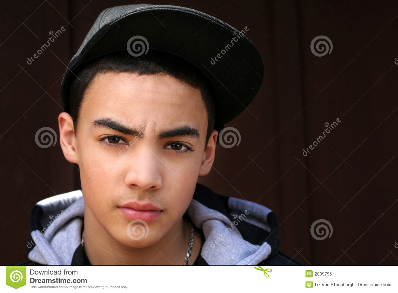 Teen Boy With Hat stock image. Image of male b772d399f38