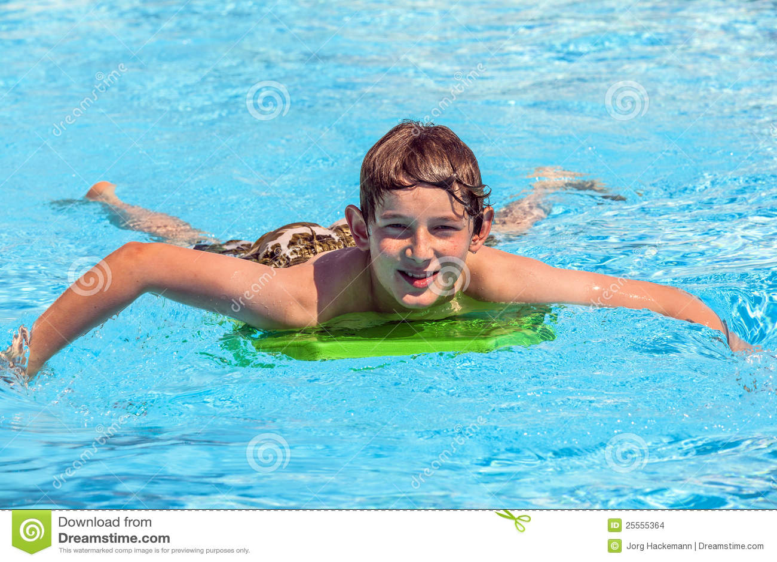 Teen Boy In Pool Male Models Picture