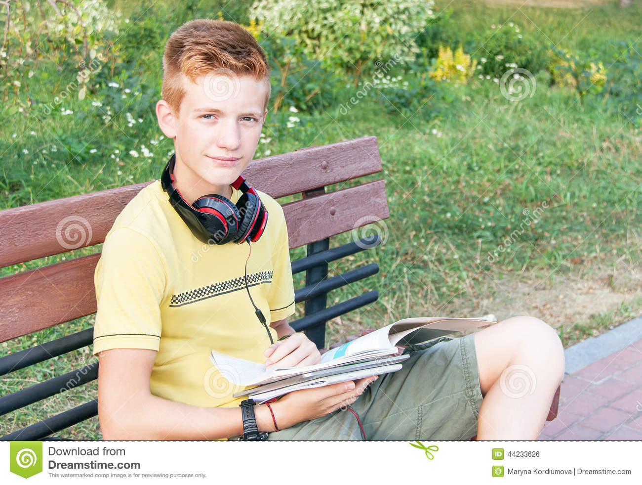 teen books Young boy