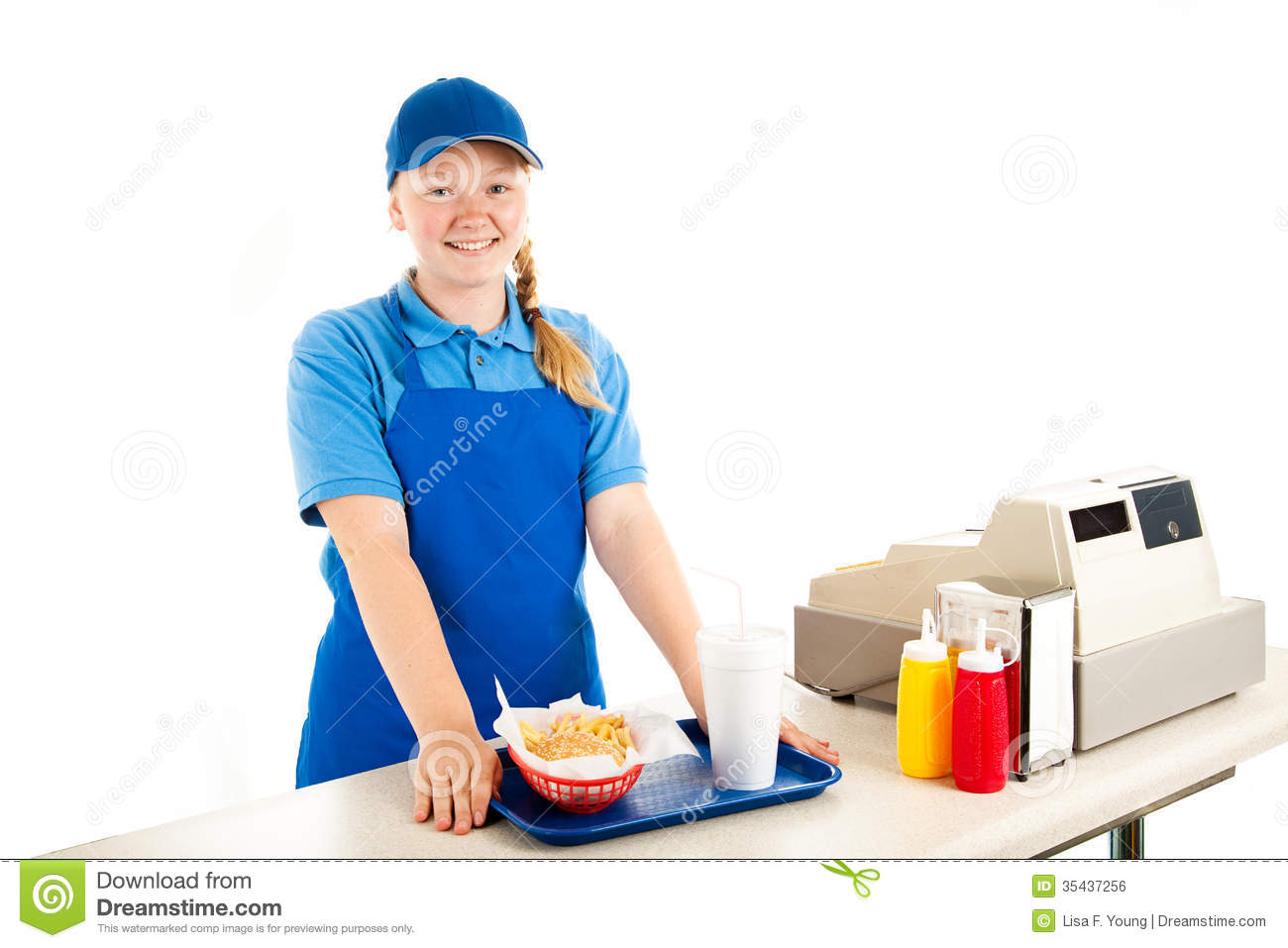 How To Work A Fast Food Cashier