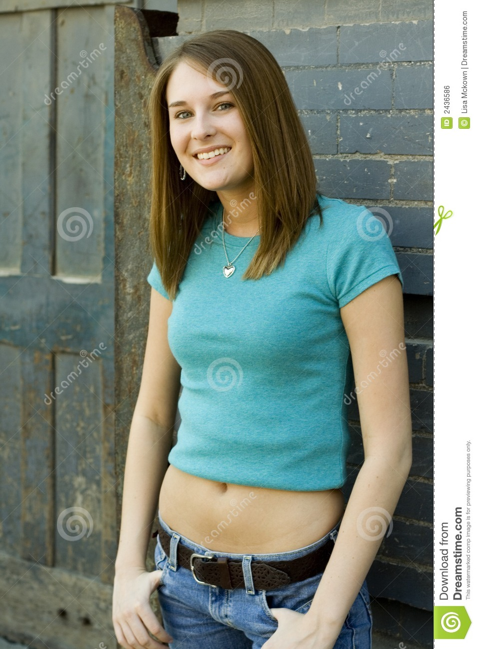 Teen Fashion Model Stock Photo. Image Of Model, Caucasian