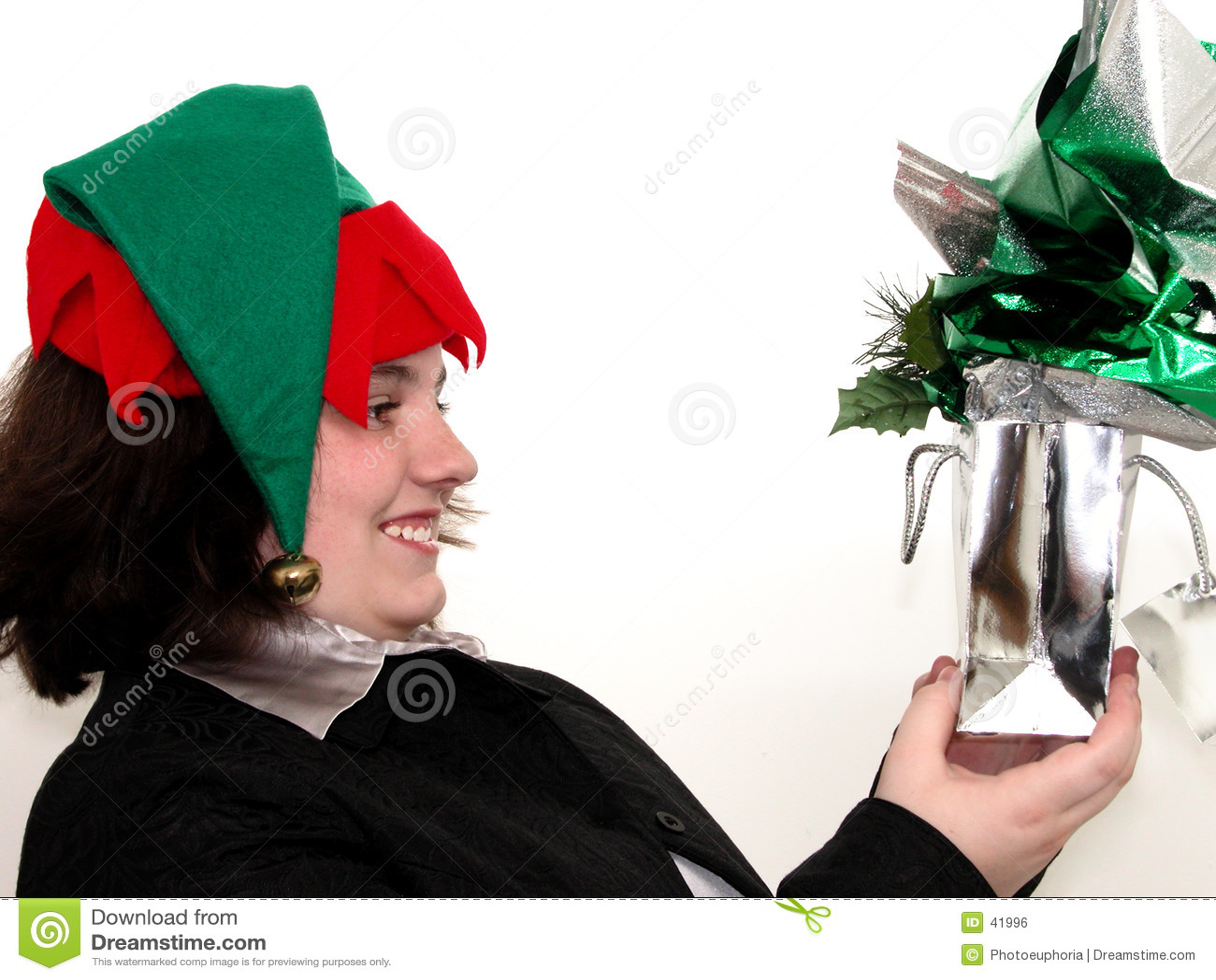 Teen ferie för julgåvaflicka