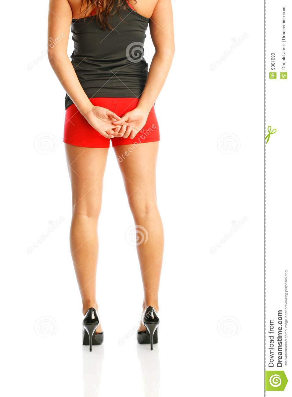 Girl Sitting On Ball For Exercise Stock Image - Image of