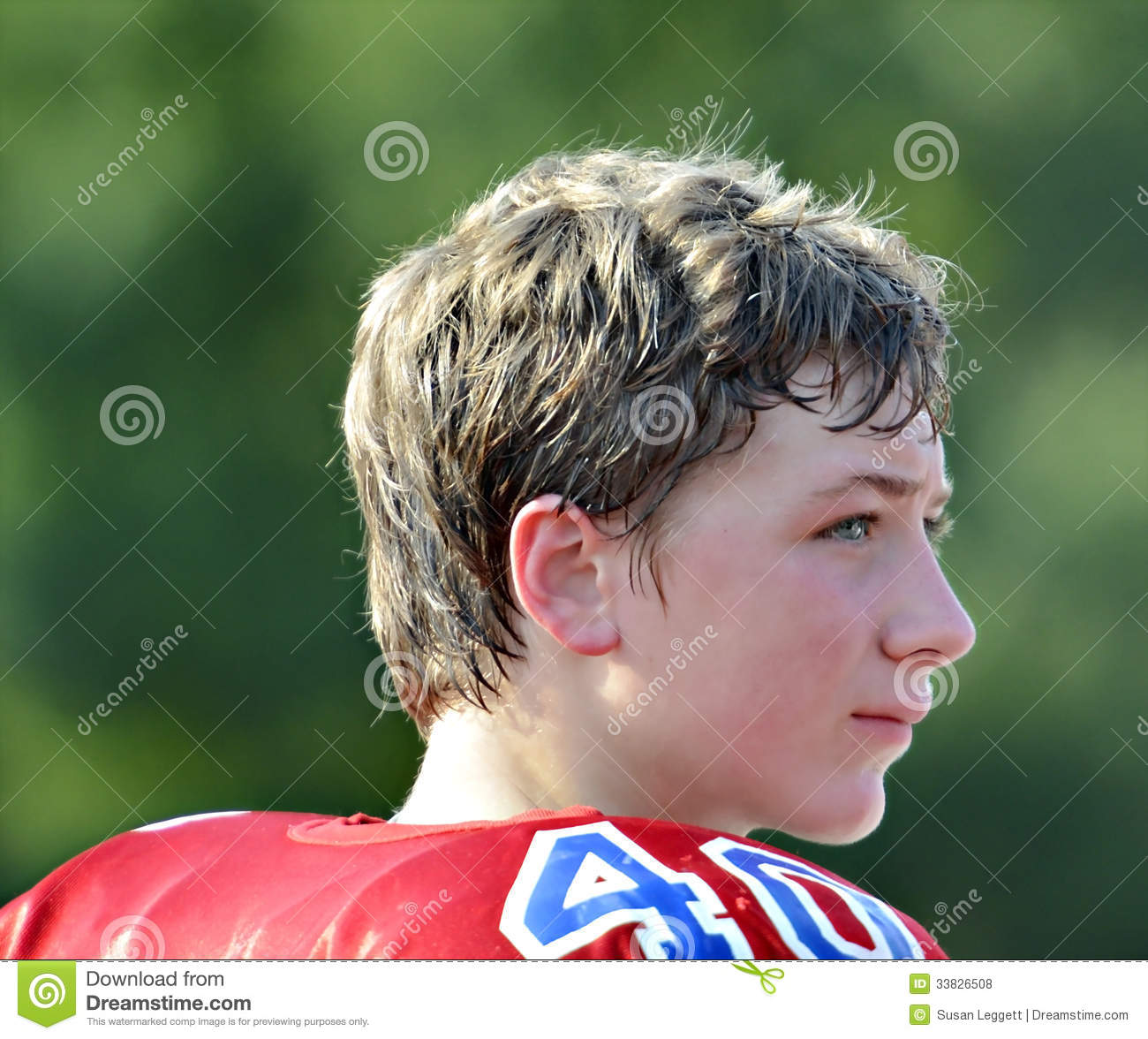 teen football player stock photo. image of sportsman - 33826508