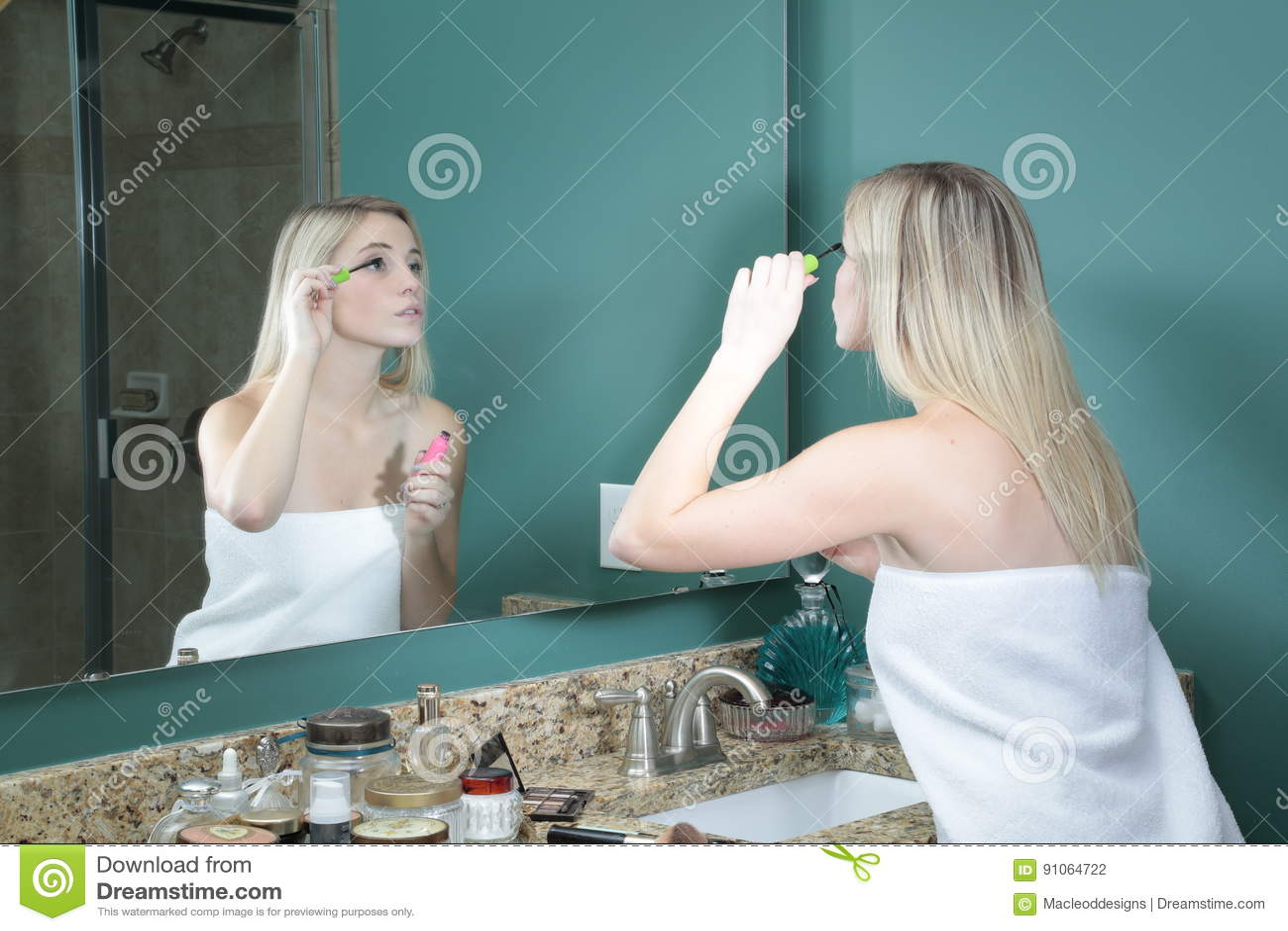 Think, teen girl bathroom mirror phrase