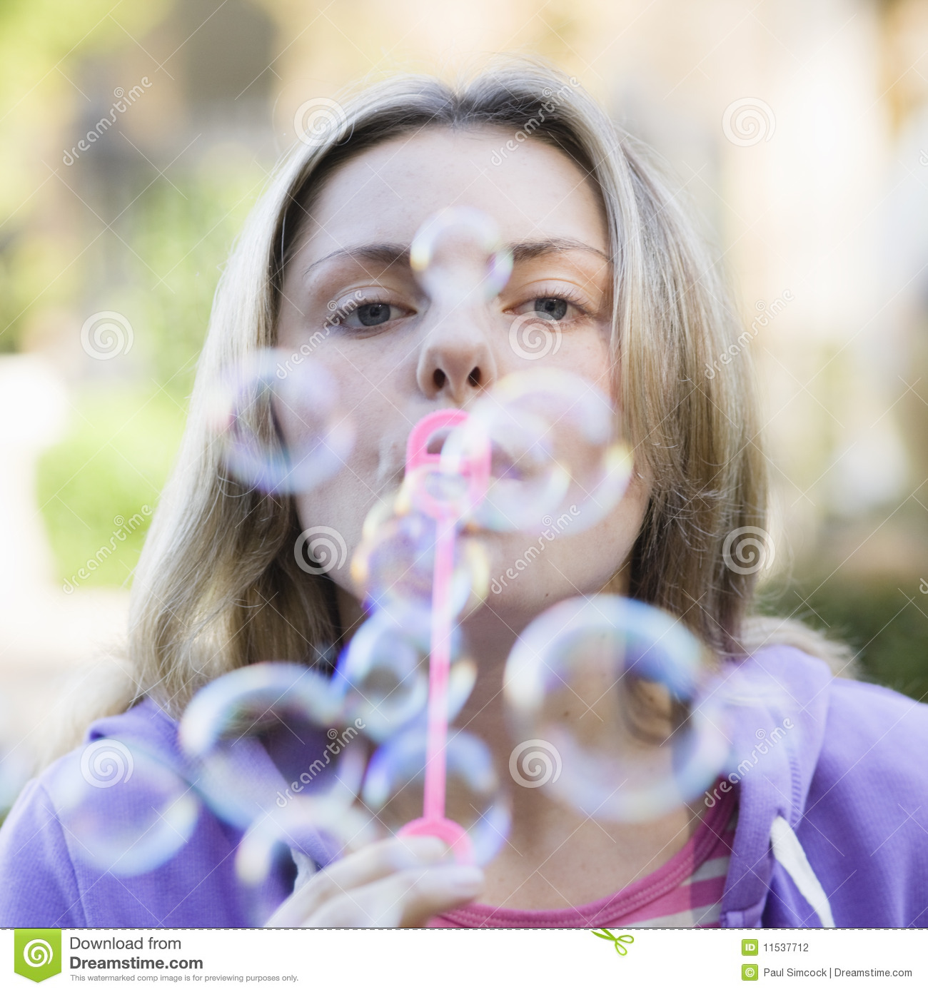 Teen Girl Blowing Bubbles Stock Photography - Image: 11537712: dreamstime.com/stock-photography-teen-girl-blowing-bubbles...