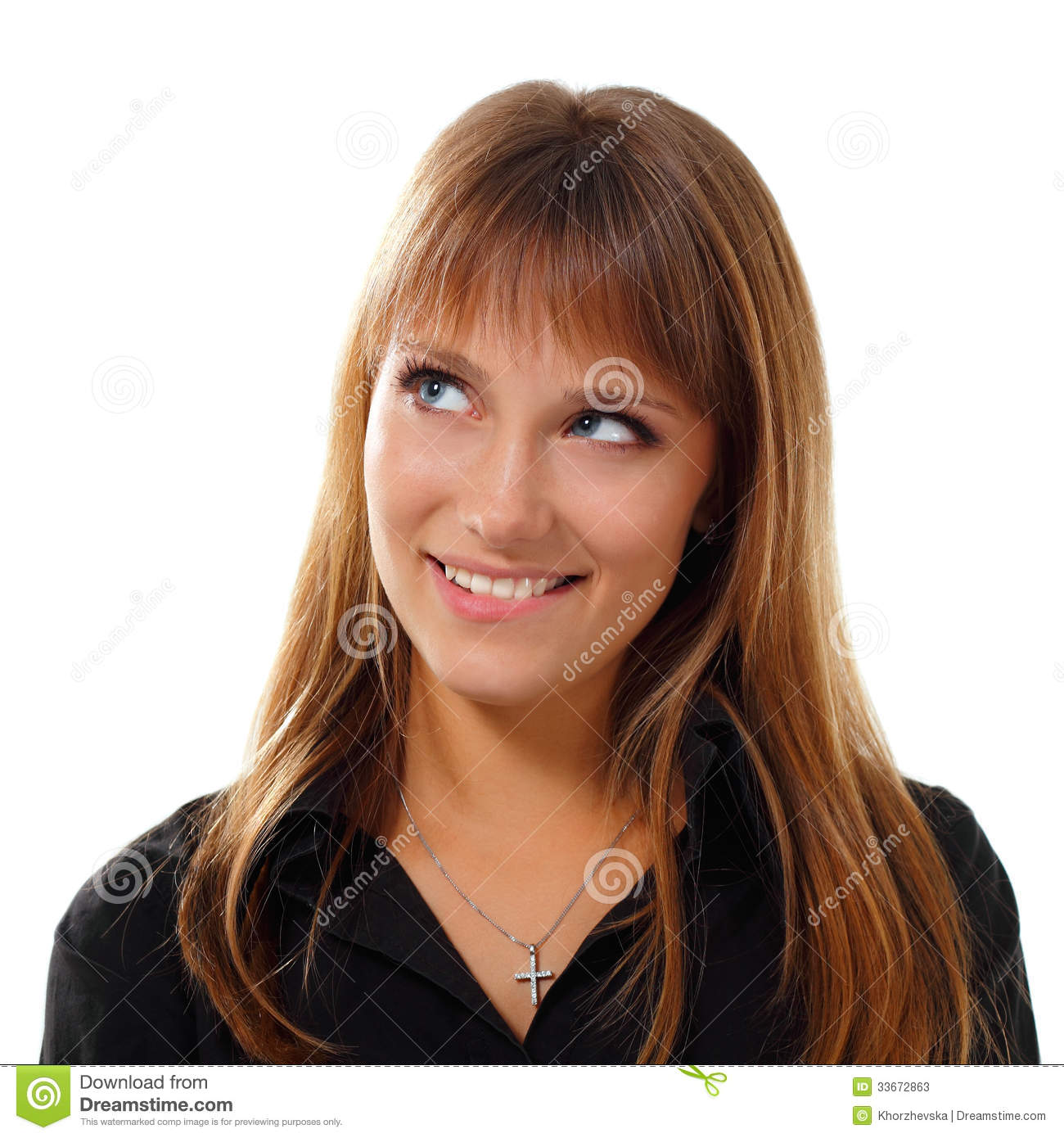 Teen girl emotional attractive make faces isolated stock image image 33672863 - Teen age girl picthar ...