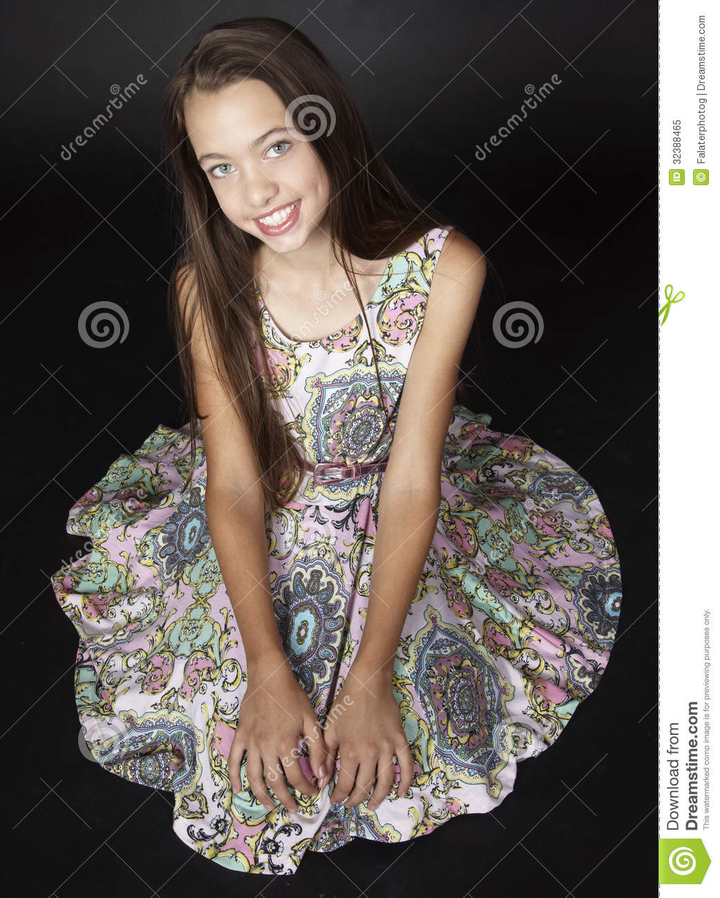Teen Girl Fashion Royalty Free Stock Photo