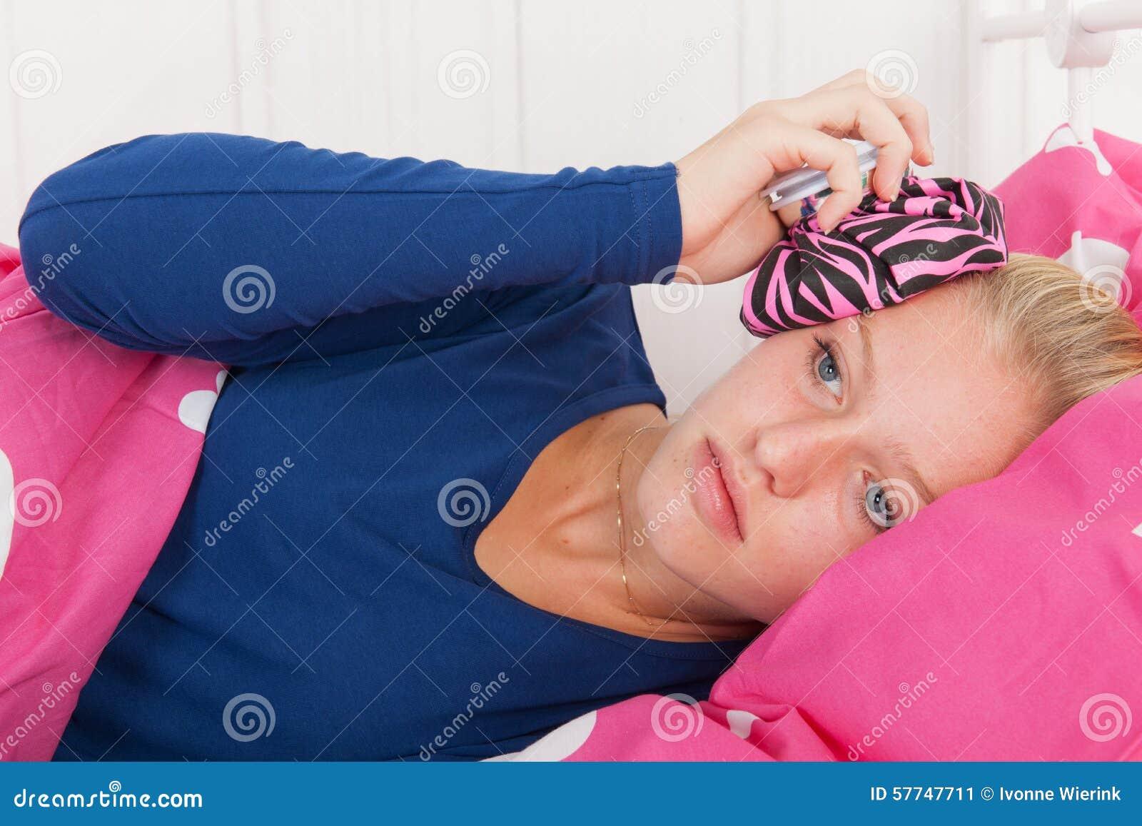 teens having their period