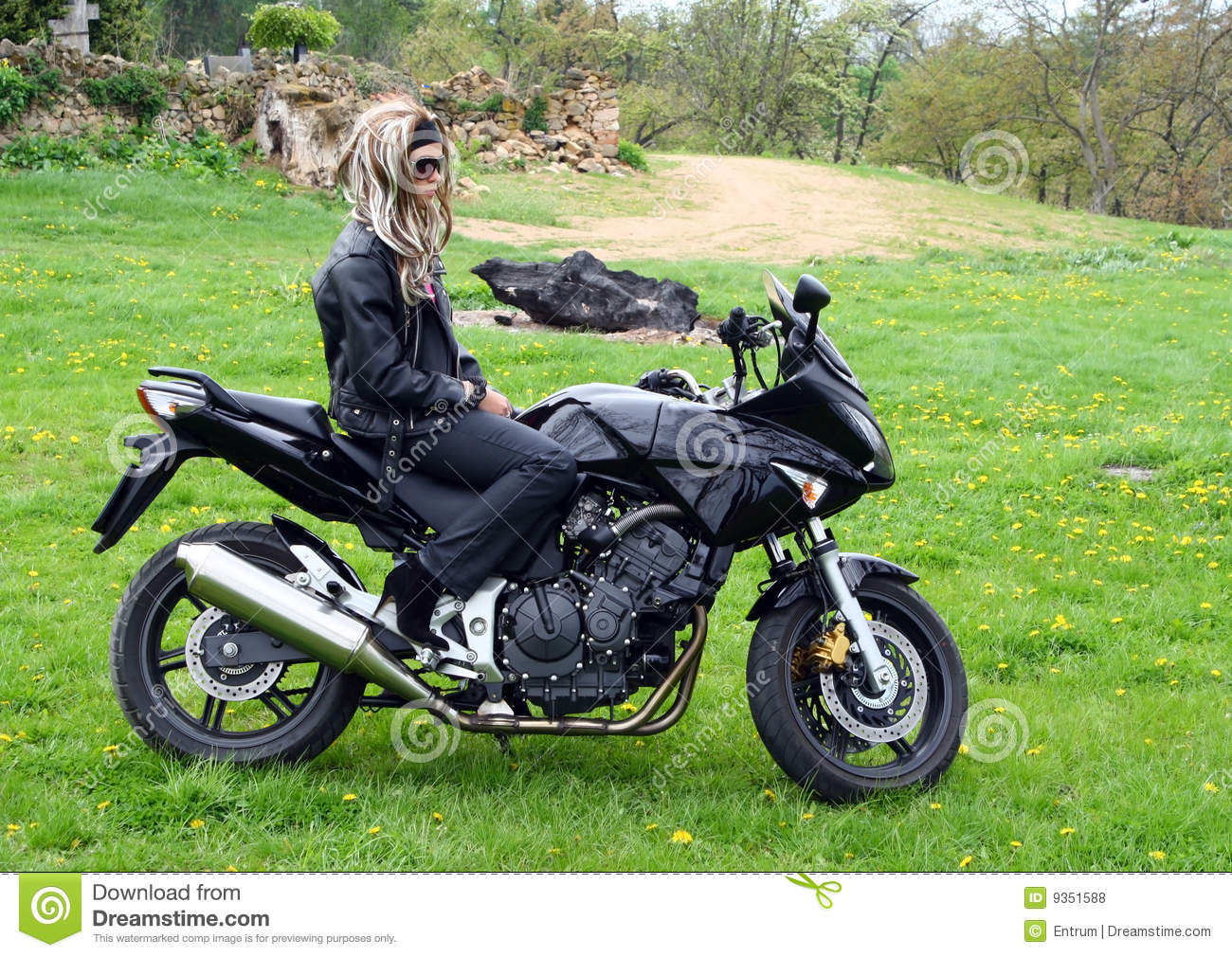 detail photo young motorcycles royalty free image