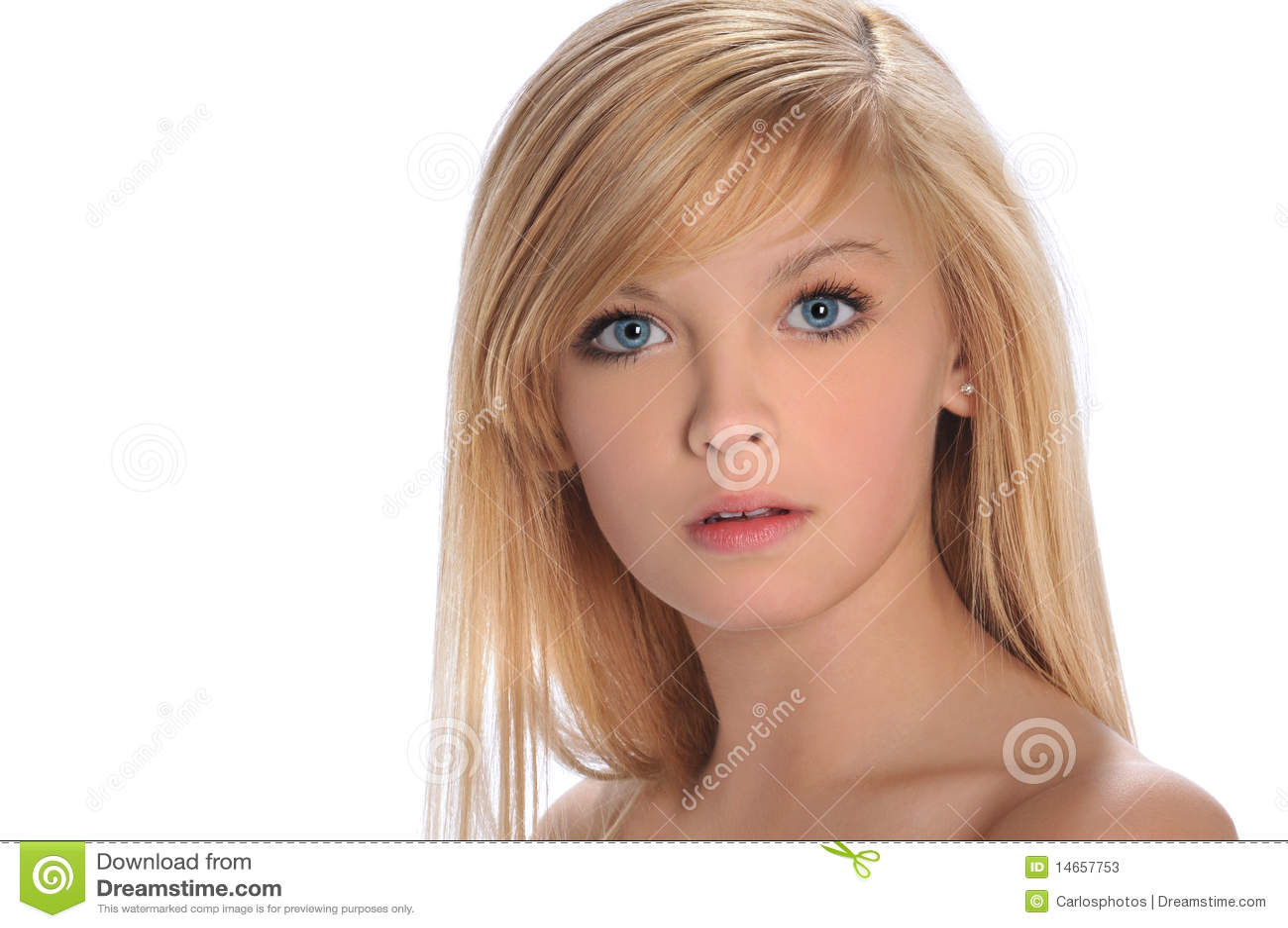 Teen girl 39 s portrait stock photos image 14657753 - Image of teen ...