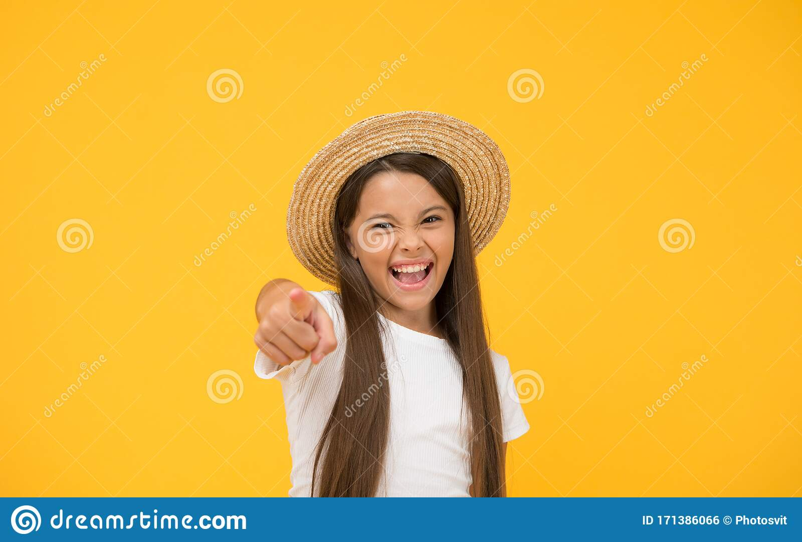 Teen Girl Summer Fashion Beach Style For Kids Travel Wardrobe Best Summer Hats To Shop Hats Are Chic And Great Way Stock Photo Image Of Emotions Background 171386066