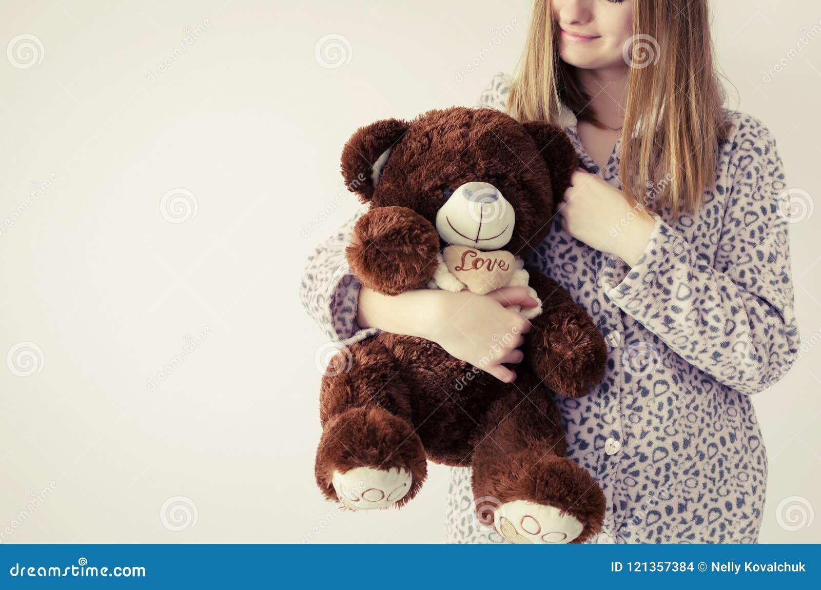 girls Stuffed teen