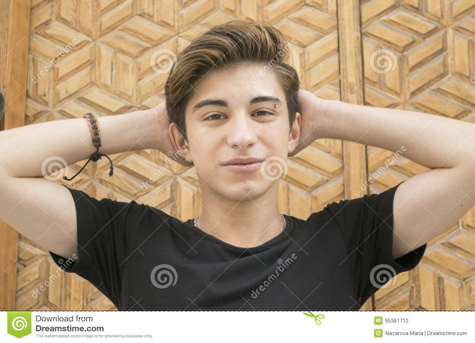 Teen Guy Stock Photo - Image: 55361712