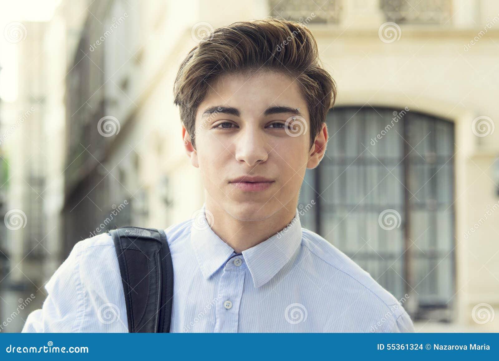 Teen Guy Stock Photo - Image: 55361324