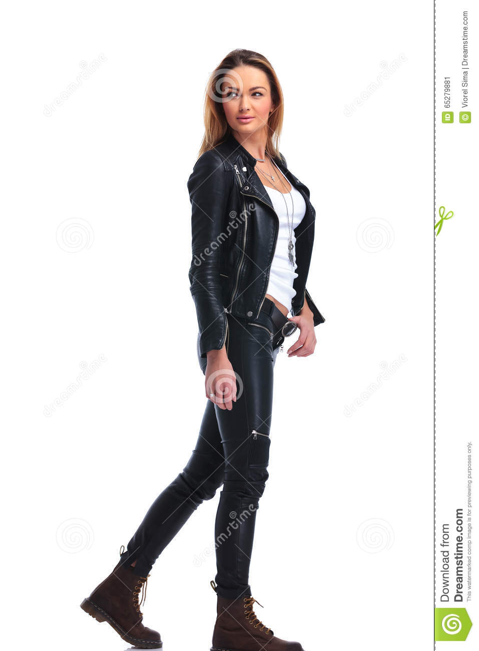 Leather Pose 92