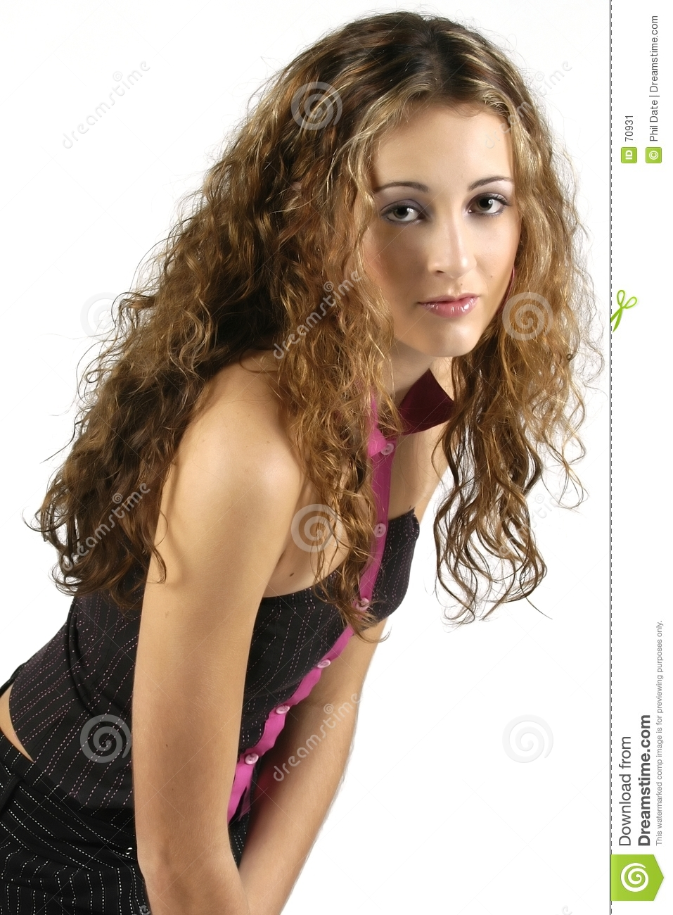 Teen Model 3 Stock Image. Image Of Pretty, Frizzy