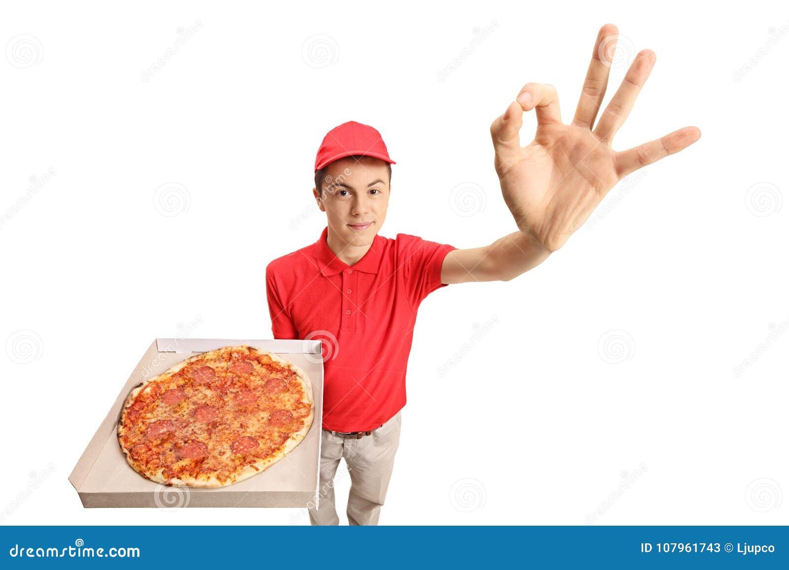 Pizza teen