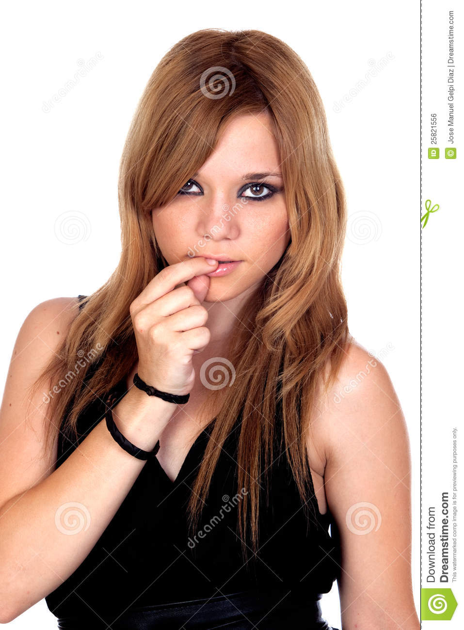 Teen Rebellious Girl Royalty Free Stock Image Image