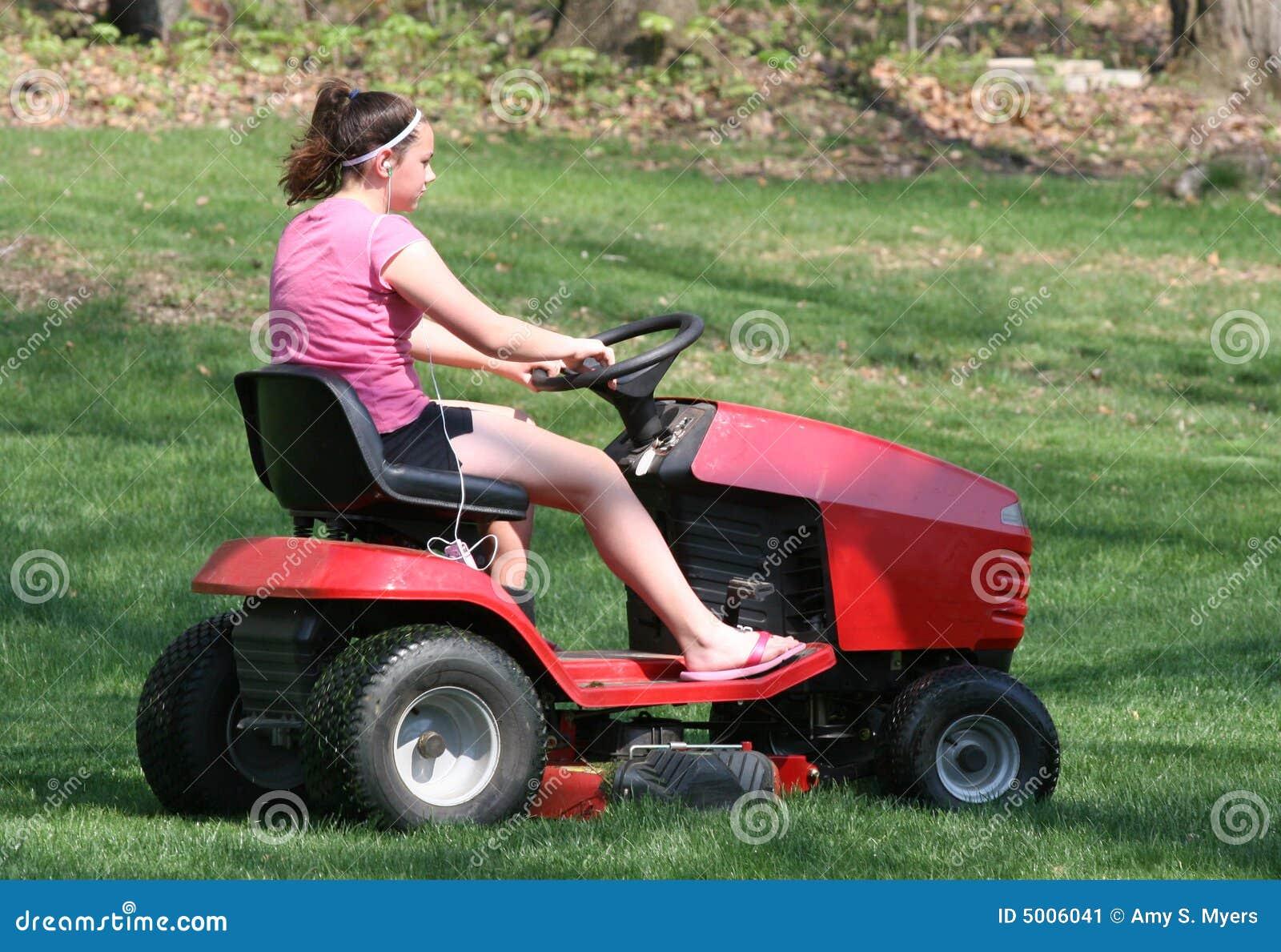 Lawn Mower Seat Trim : Riding mower cartoon vector cartoondealer