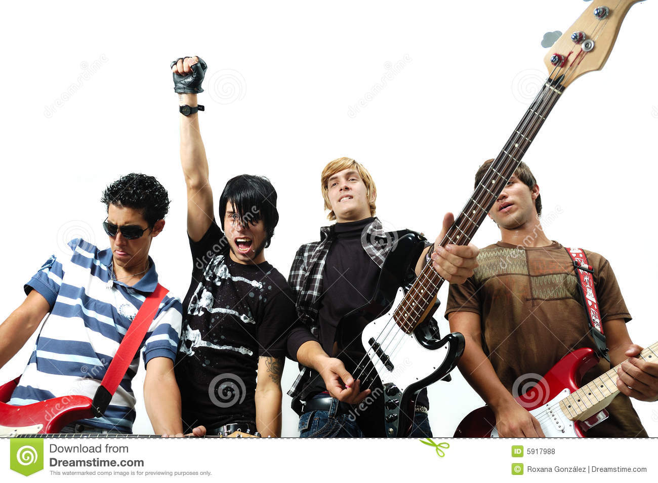 rock teen bands christian