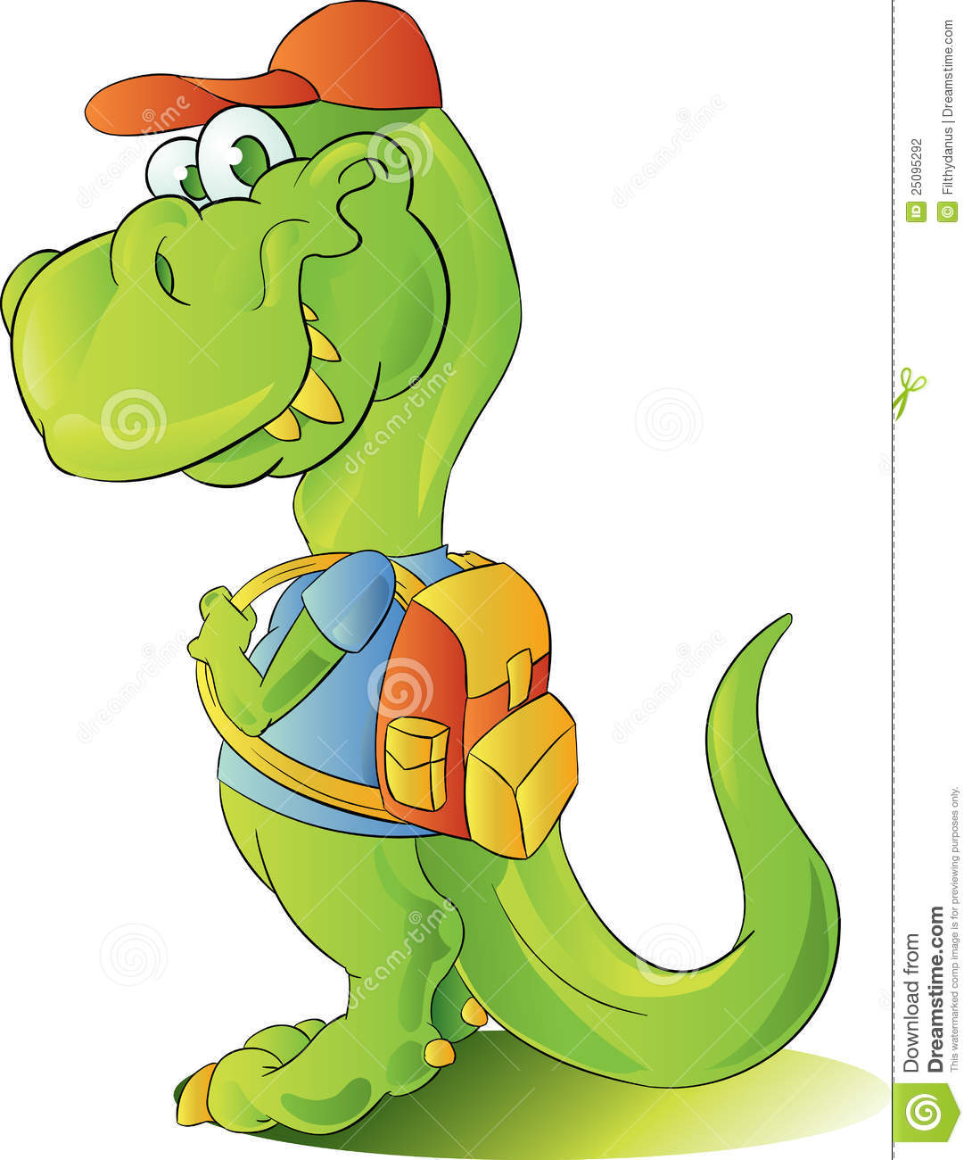 Dinosaur And Children Stock Vector - Image: 55475397