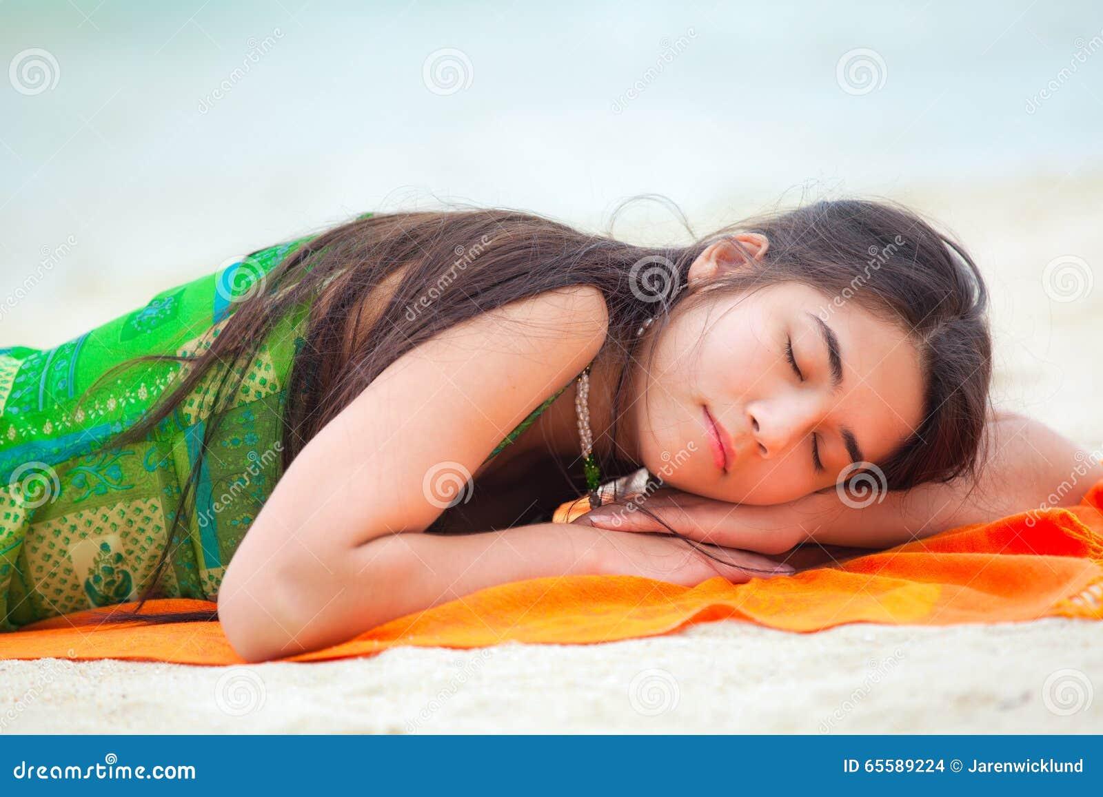Sleeping Teen Down 115