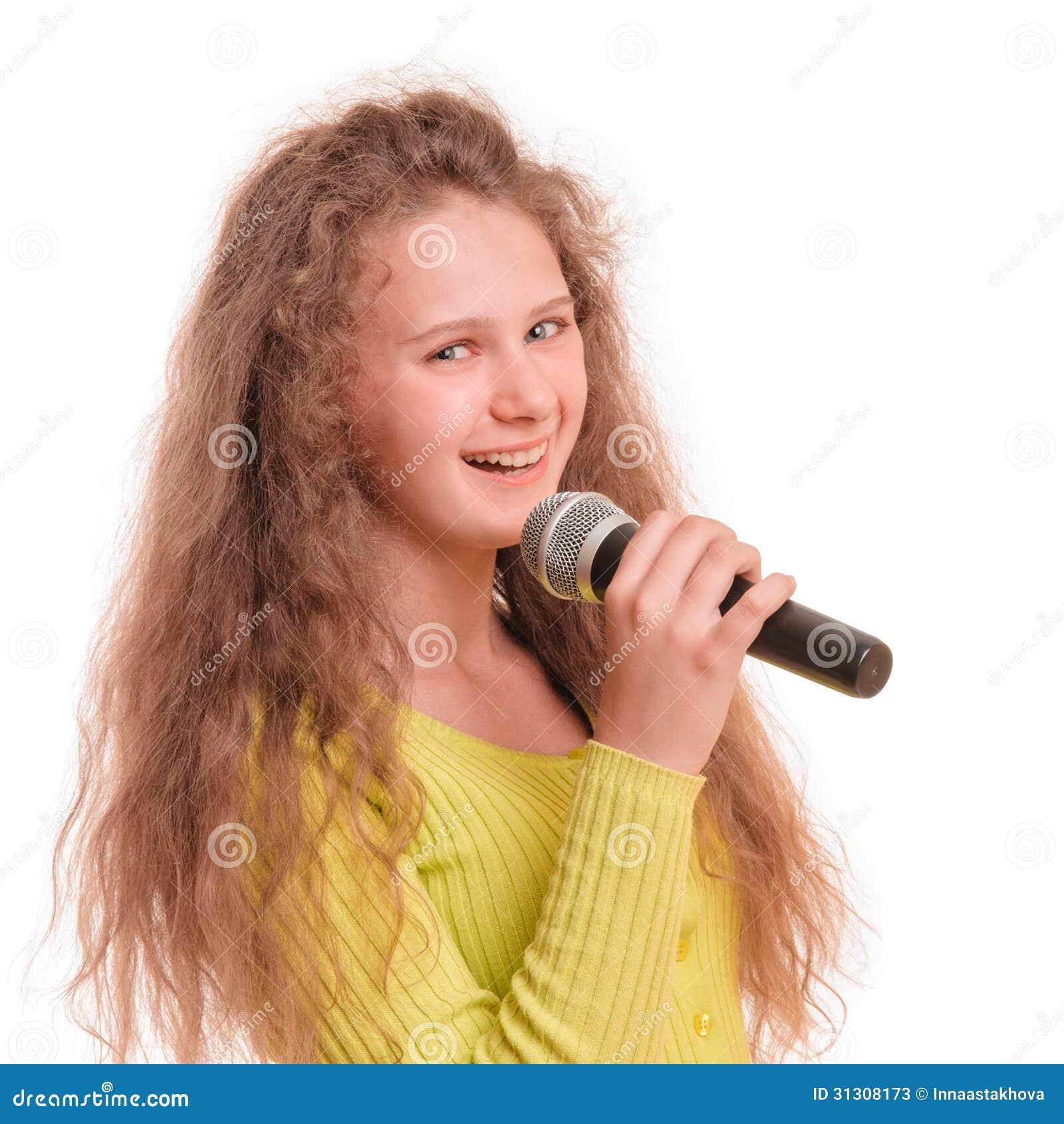 Blond Teen Was Singing 37