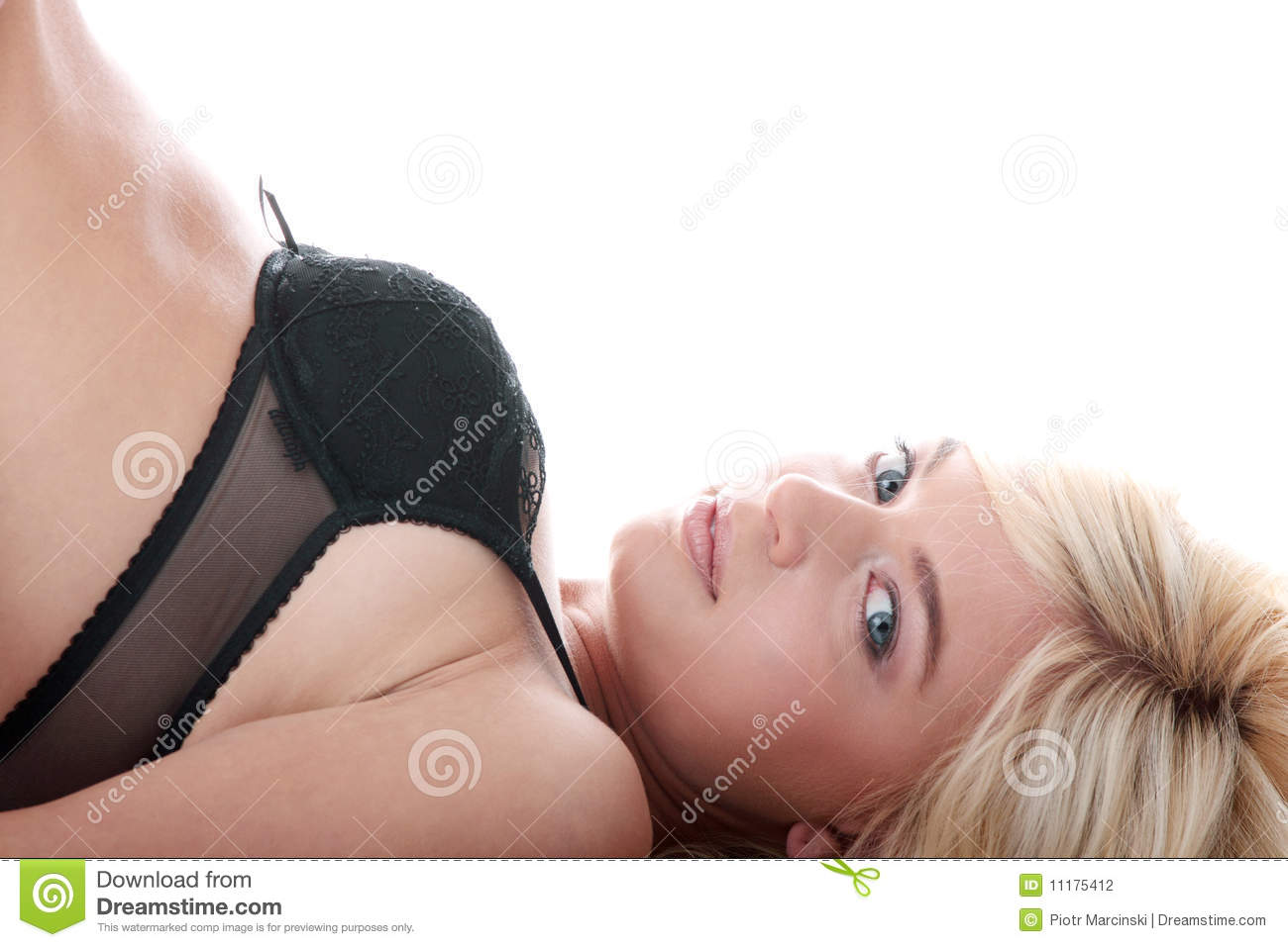 Teen woman in lingerie stock photo. Image of hairstyle - 11175412 297dc3639