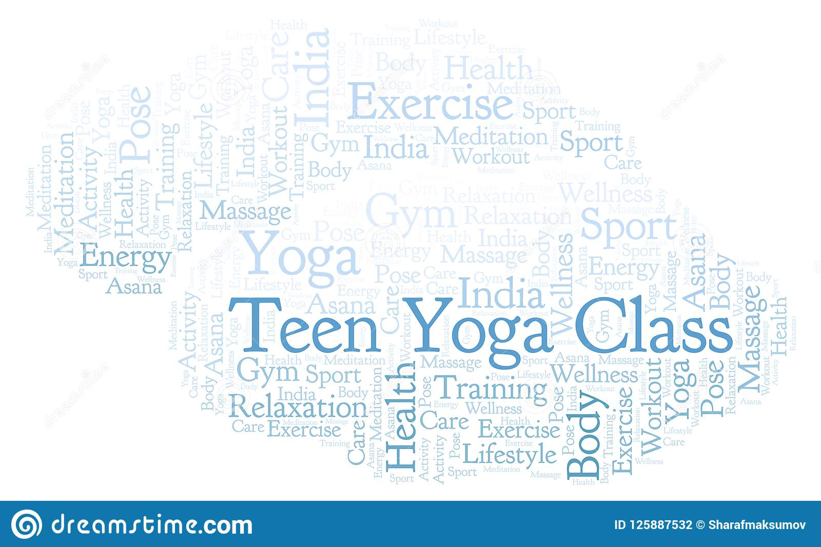 Teen yoga class word cloud stock illustration illustration of download teen yoga class word cloud stock illustration illustration of illustration greeting m4hsunfo