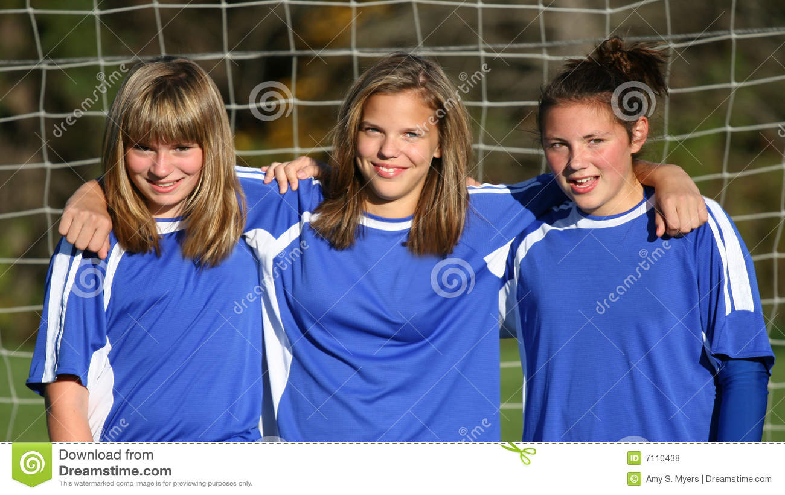 Teen Youth Soccer Buddies