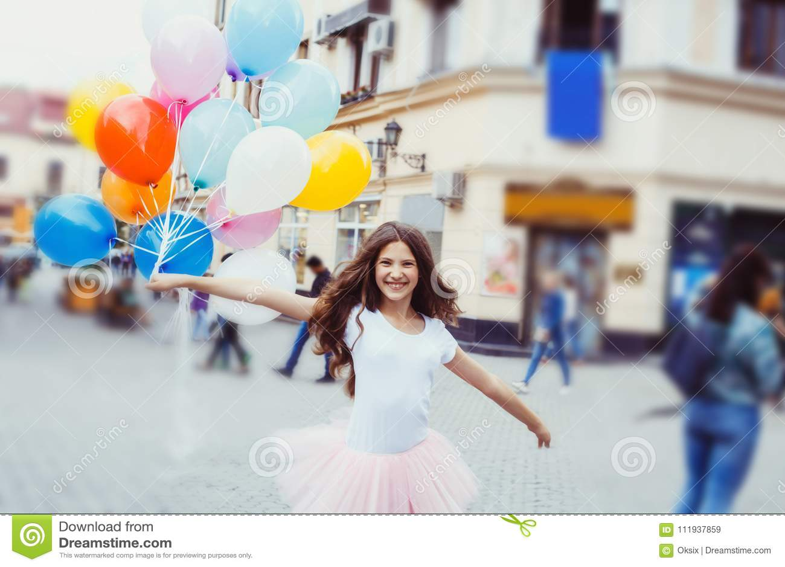 Happy Birthday Teenager Girl Stock Image Image of birthday