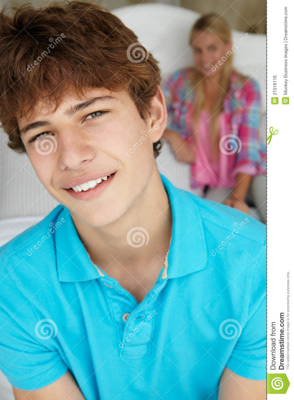 Teenage son dating girl with cf