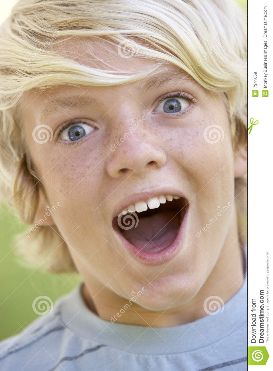 Teenage Boy Looking Excited Royalty Free Stock Photos ...