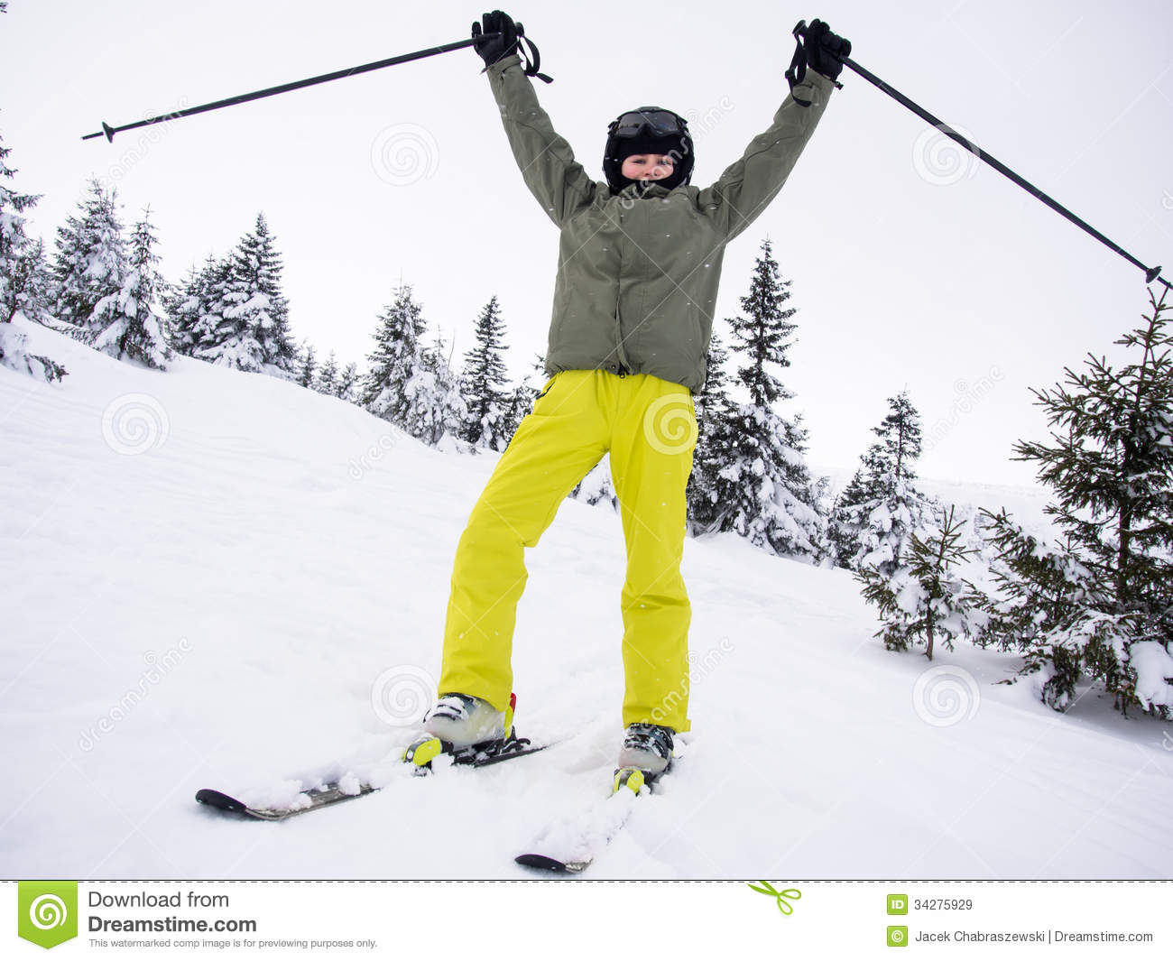 Teen winter sports