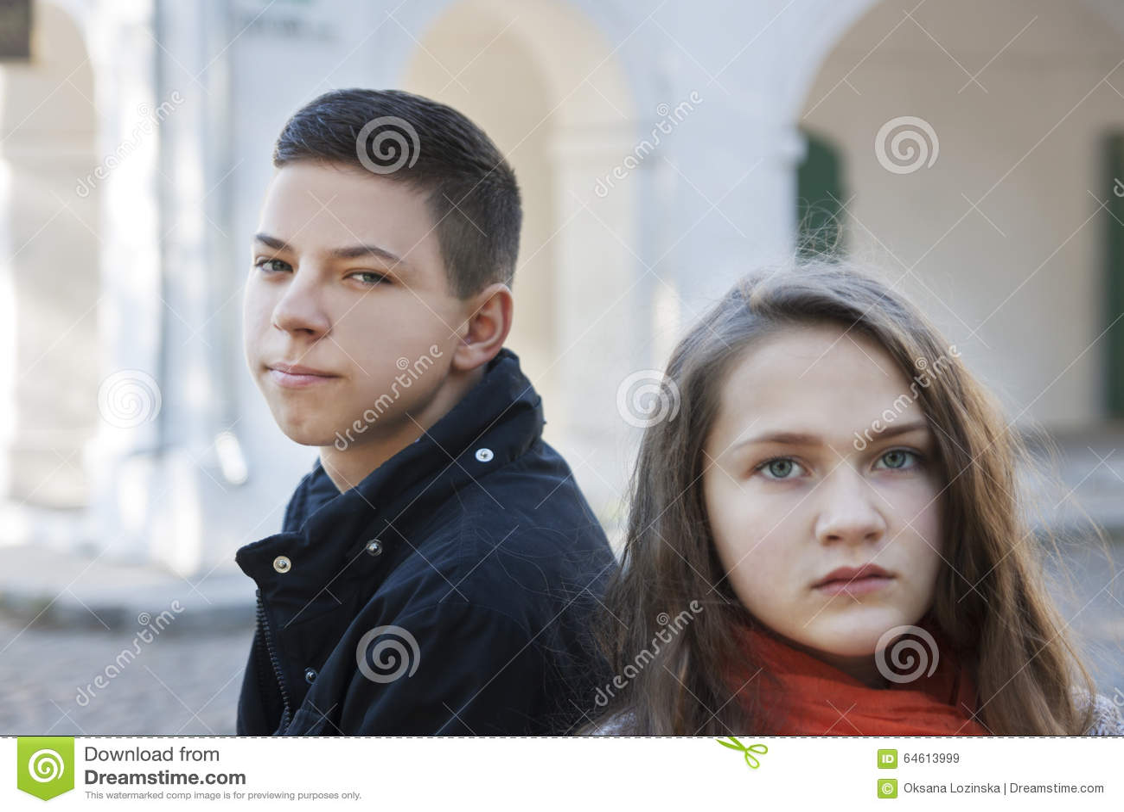 Teenage Conflict Stock Image Image Of Teenage People 64613999