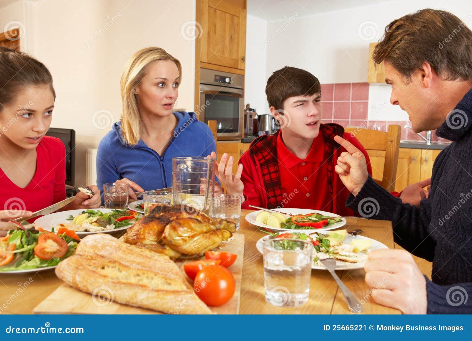 A family argument