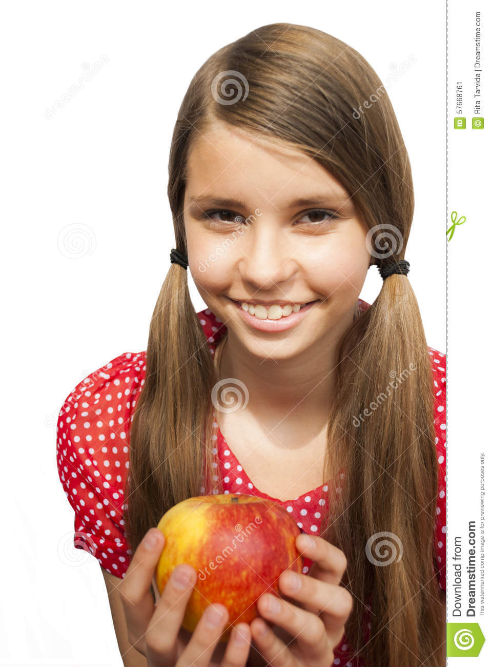 teen-girls-apple-mouth