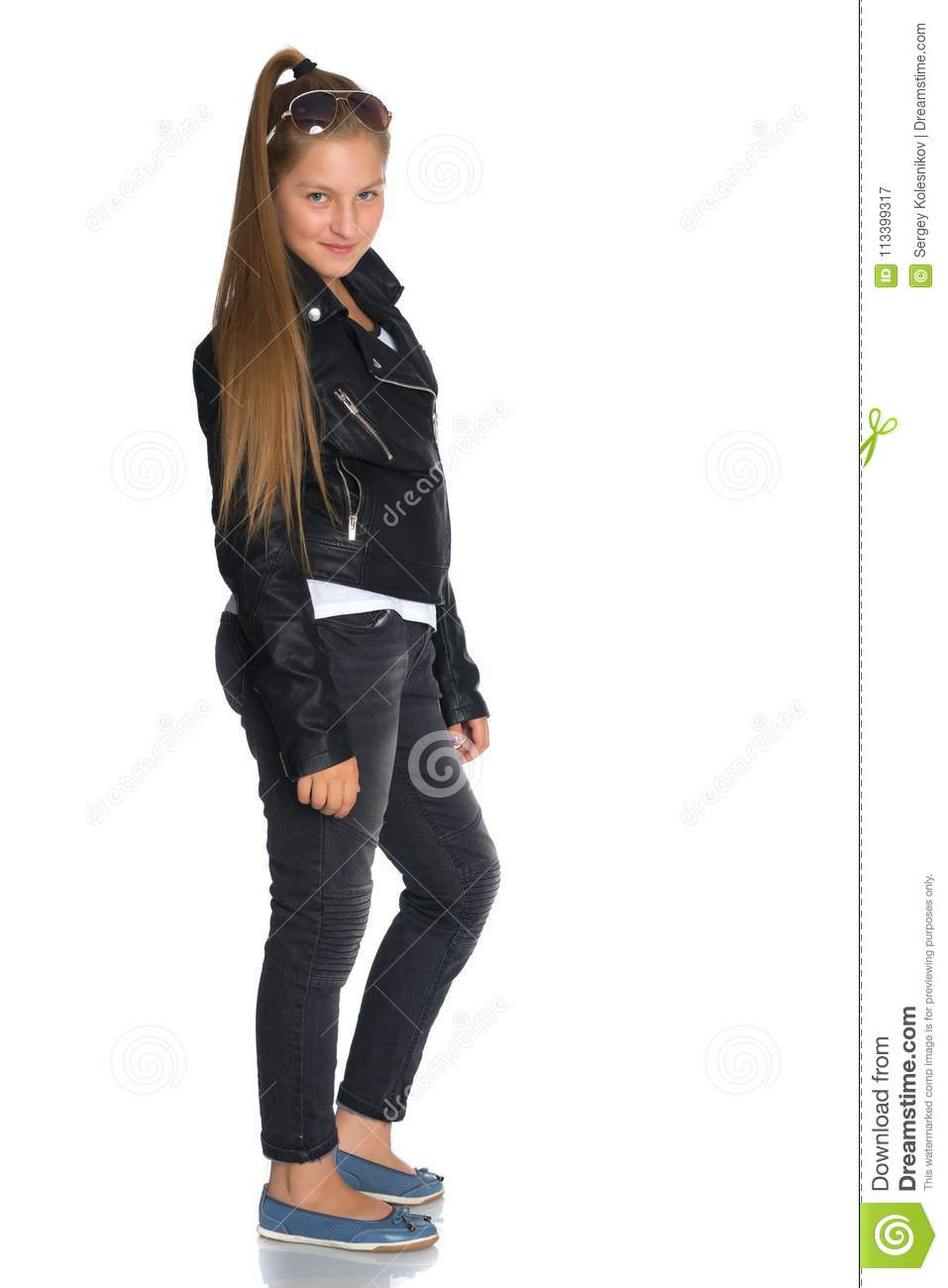 Leather jackets for teen girls apologise, but