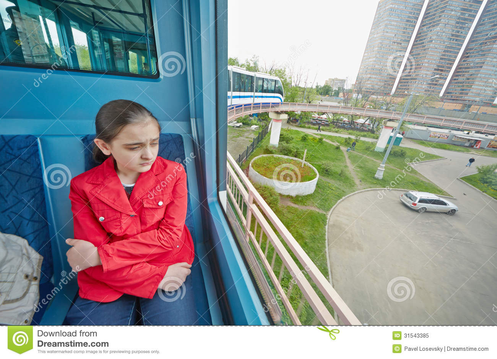 Monorail girl