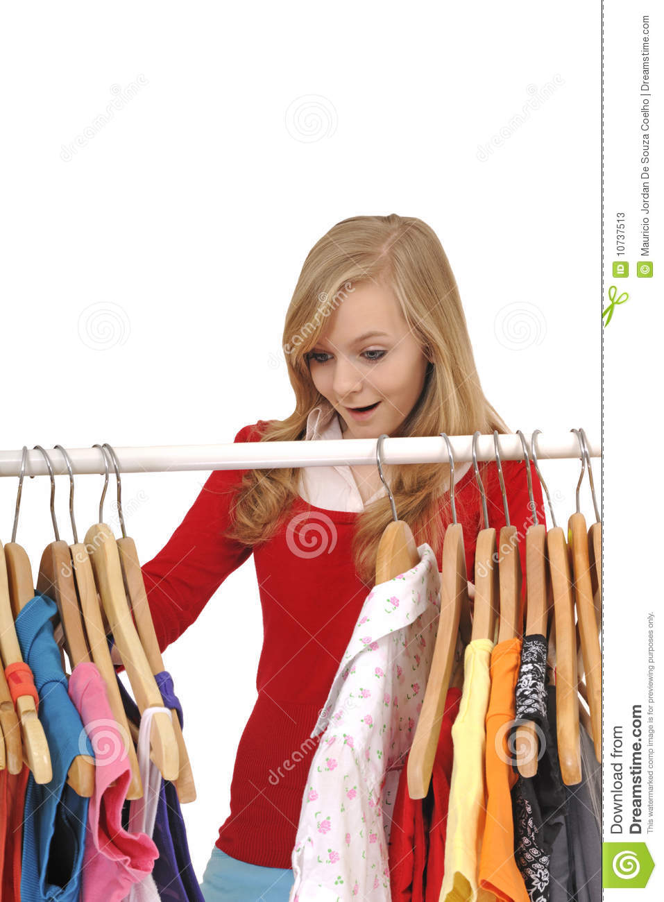 Shopping for teen clothing