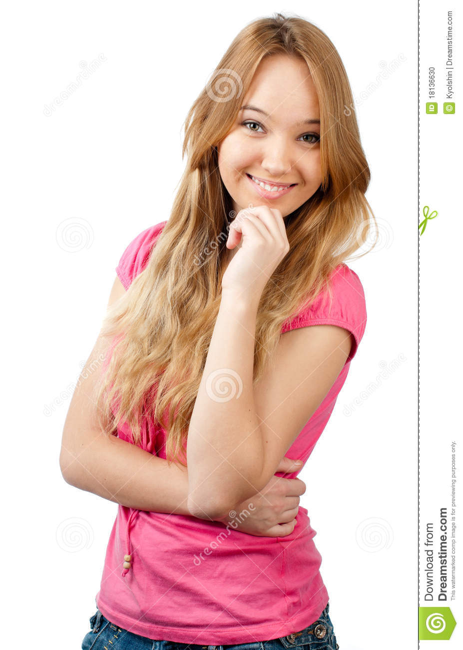 a teenage girl A teenager, or teen in the 21st century, the average age at which children, especially girls, reach puberty is lower compared to the 19th century.