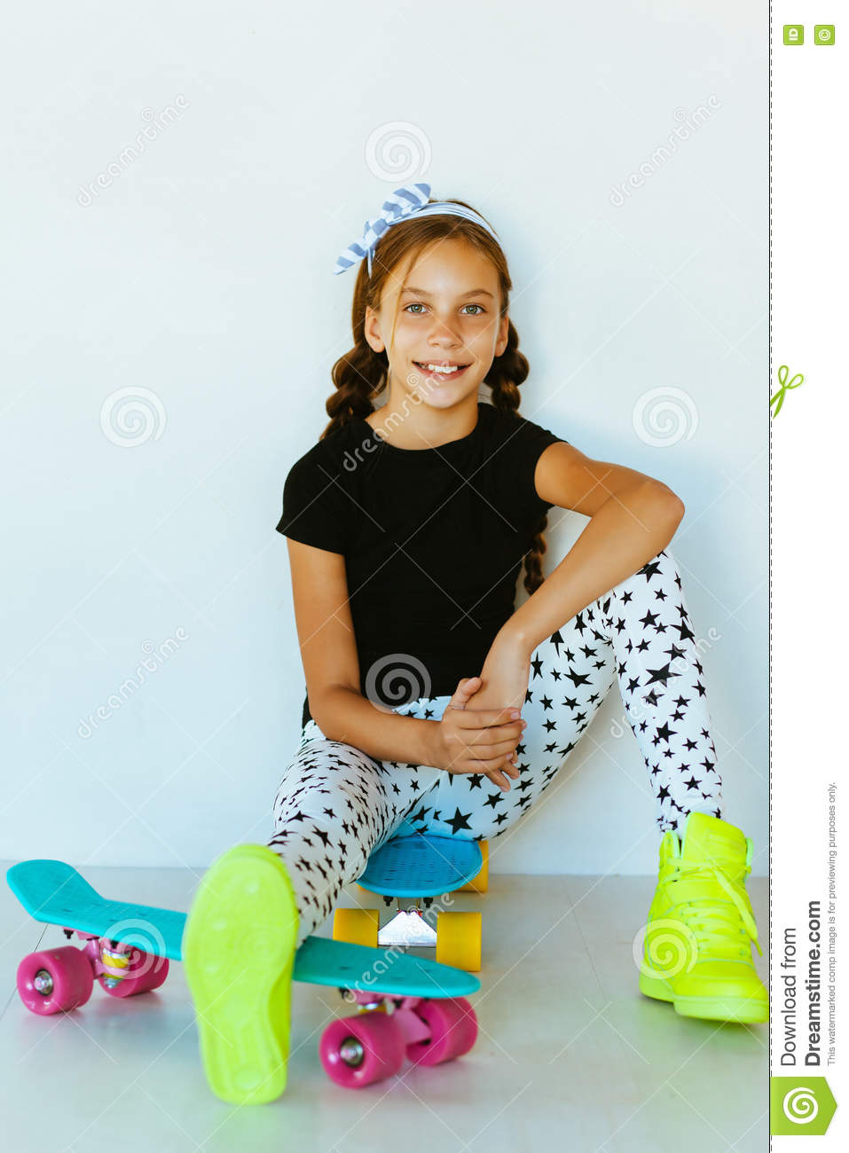 Teenage Skater Stock Image Image Of Clothes Activity 73971351