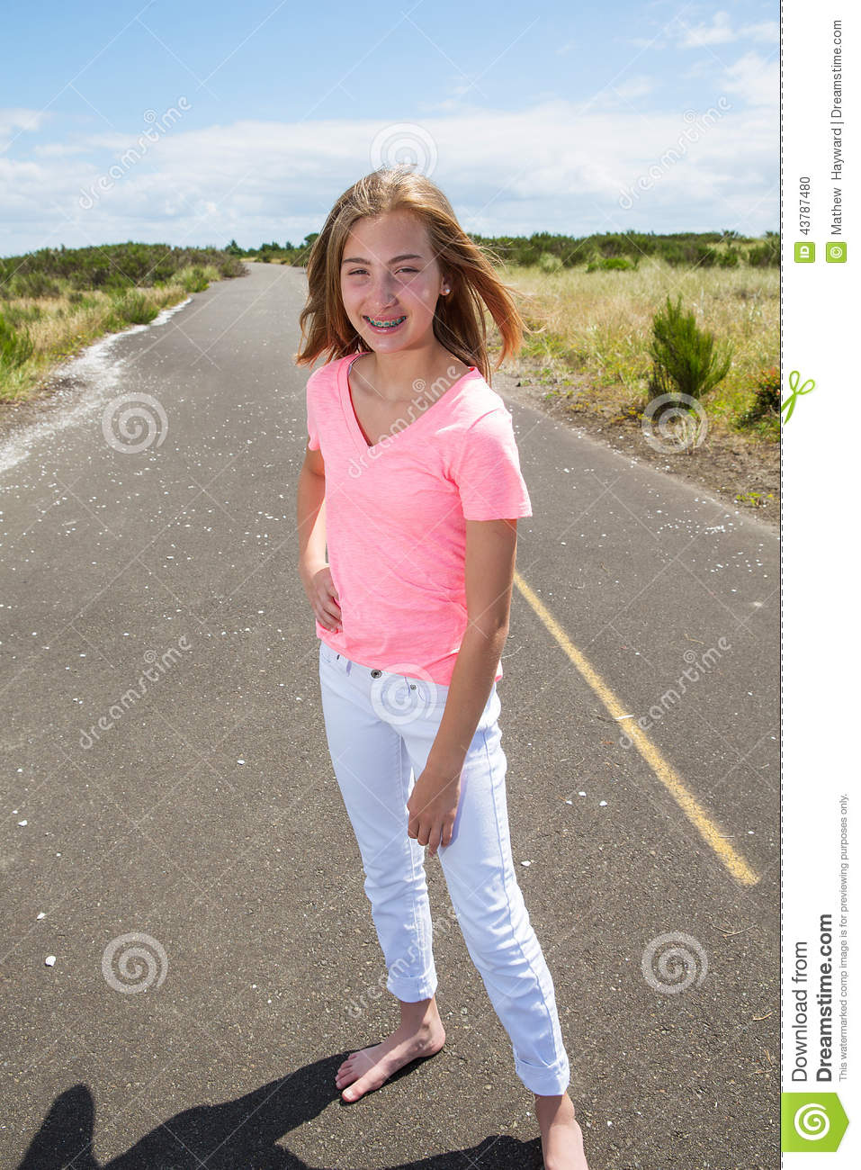 Teen Walking 98