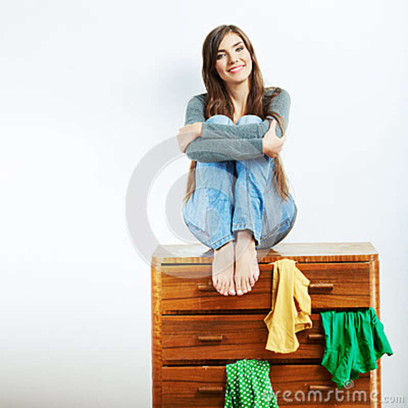 Teenager girl portrait at home royalty free stock photos image 34627518 - Teenager girl simple home ...