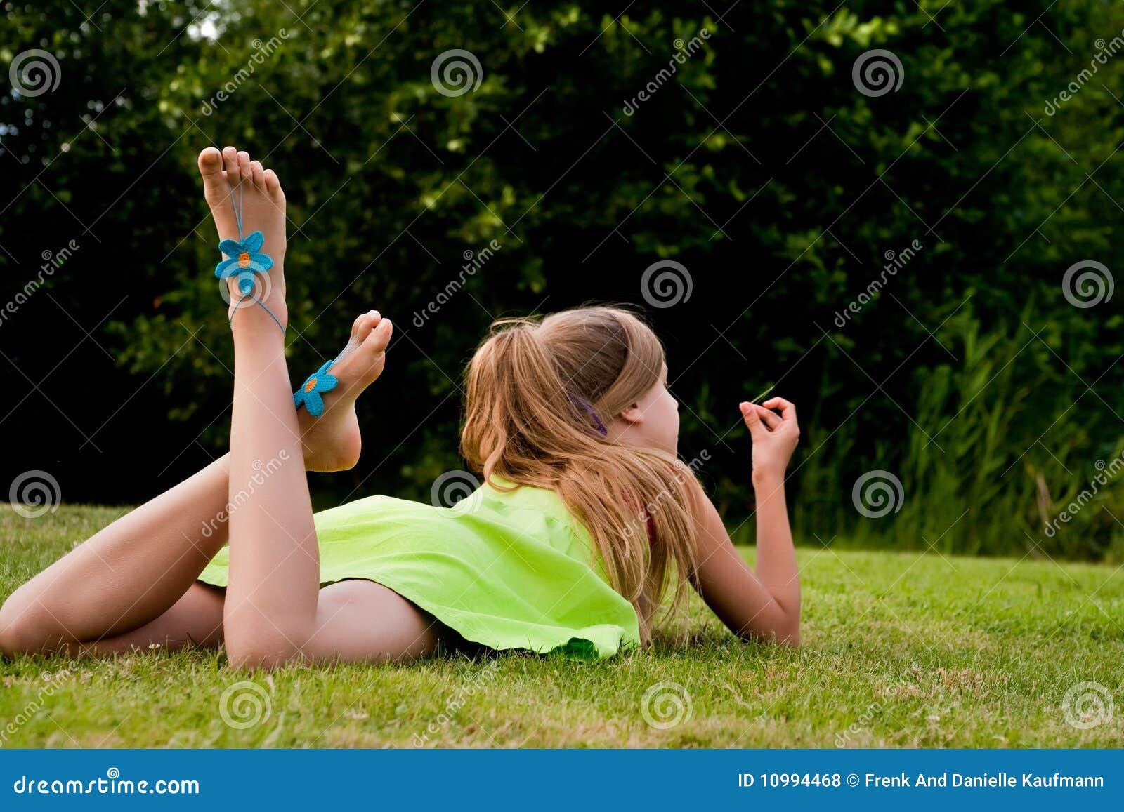 Teenager picknick