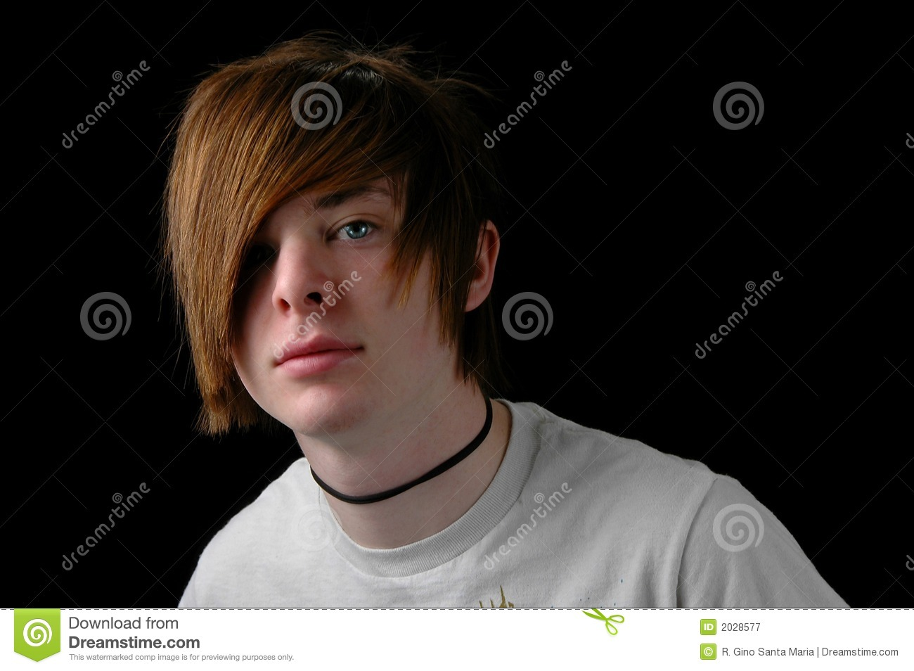 Download Teenager with T-Shirt stock image. Image of youth, portraits - 2028577